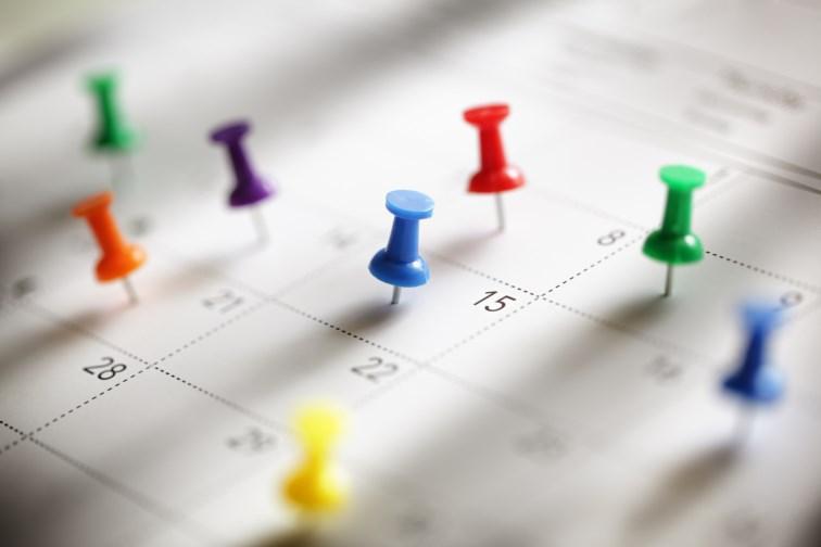 calendrier de vacances